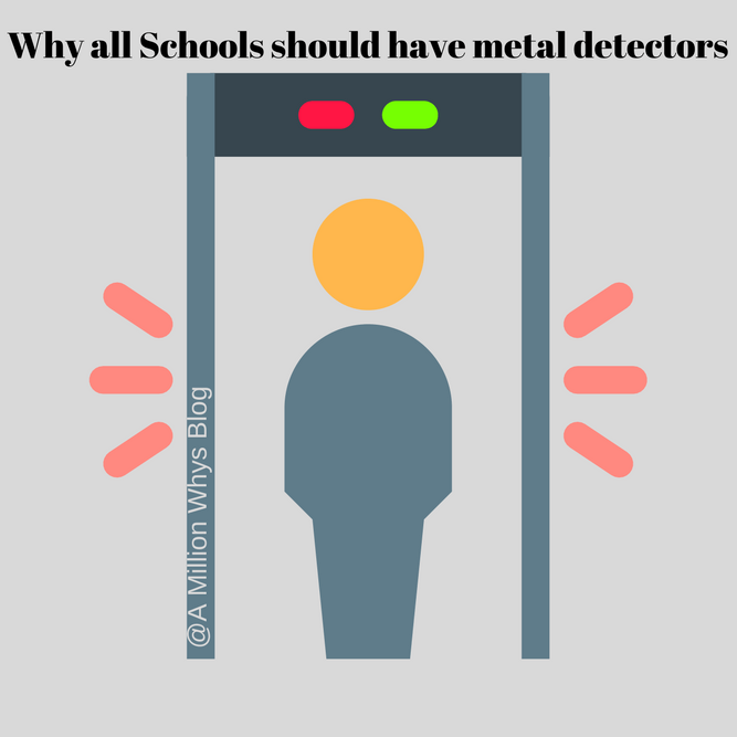 should schools have metal detectors essay These include the use of metal detectors some schools have trained school psychologists/counselors or violence prevention coordinators.